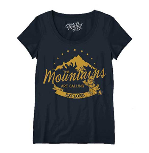 Woodsy Owl 'Explore the Mountains' Juniors T-Shirt