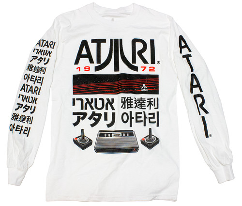 Atari Logos and Icons LS T-Shirt