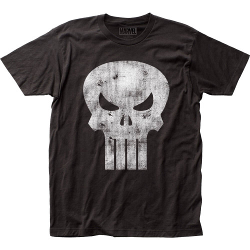 Punisher Distressed Logo T-shirt