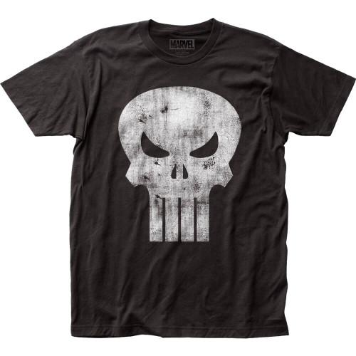 Punisher Distressed Logo T-shirt