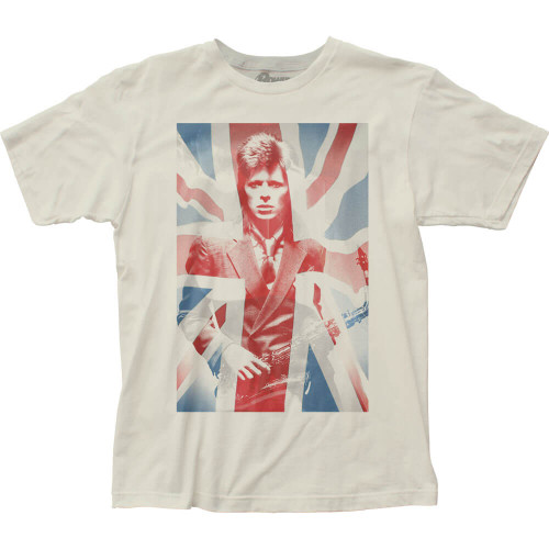 David Bowie Union Jack and Sax T-Shirt
