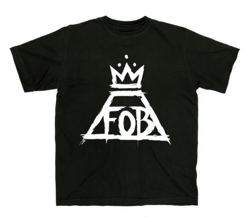 Fall Out Boy Crown Logo T-Shirt