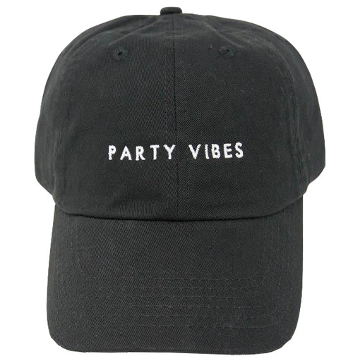 Party Vibes Dad Hats