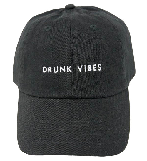 Drunk Vibes Dad Hats