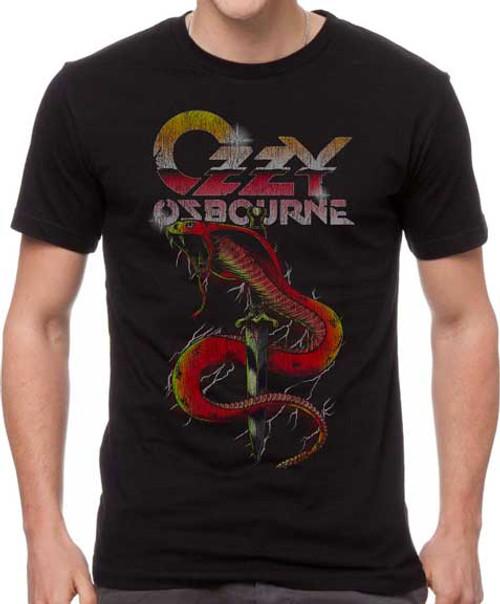Ozzy Osborne Vintage Snake T-Shirt
