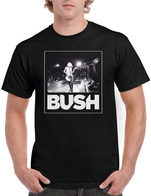 Bush On Stage Modern Box T-Shirt