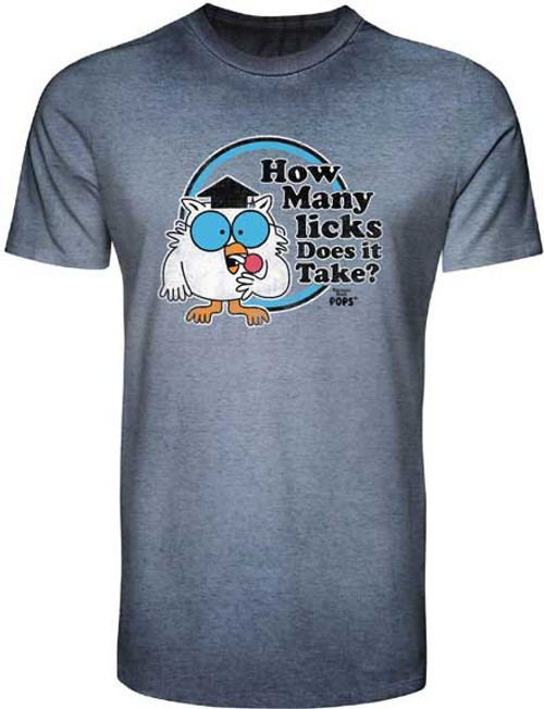 "Tootsie Pop ""How Many Licks Does it Take?"" T-Shirt"