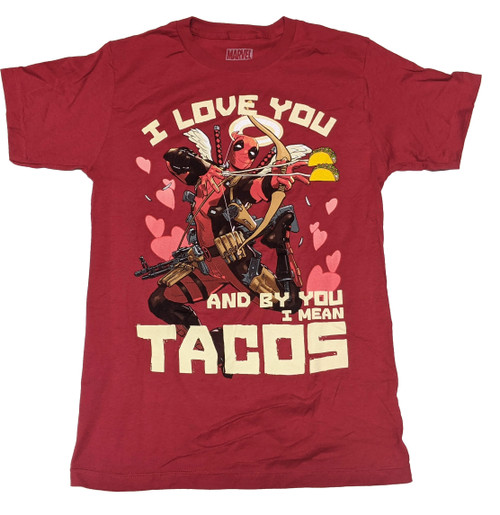 Deadpool I Love You T-Shirt