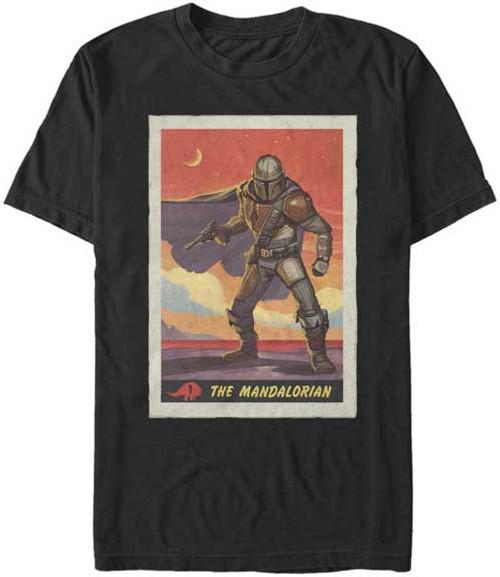 Star Wars: The Mandalorian Poster Premium T-Shirt