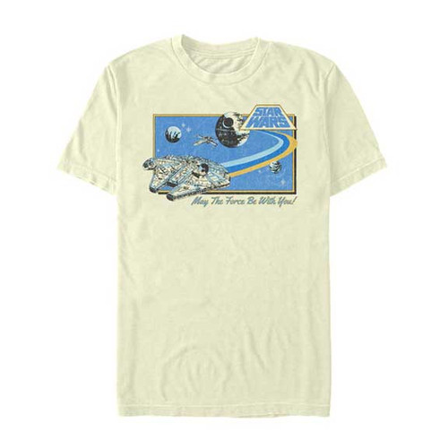 Star Wars Vintage Falcon Premium T-Shirt