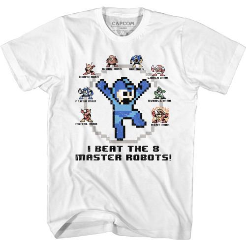 Mega Man 8 Master Robots T-Shirt