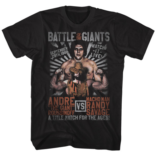 Andre the Giant vs. Macho Man T-Shirt