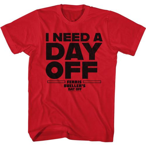 "Ferris Bueller's ""I Need a Day Off"" T-Shirt"