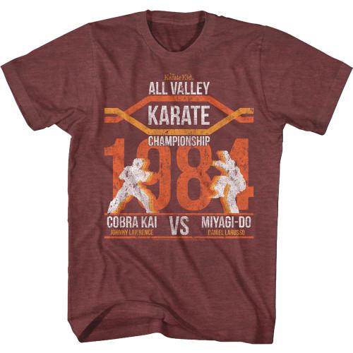 Karate Kid Cobra Kai All Valley Champ Vintage T-Shirt