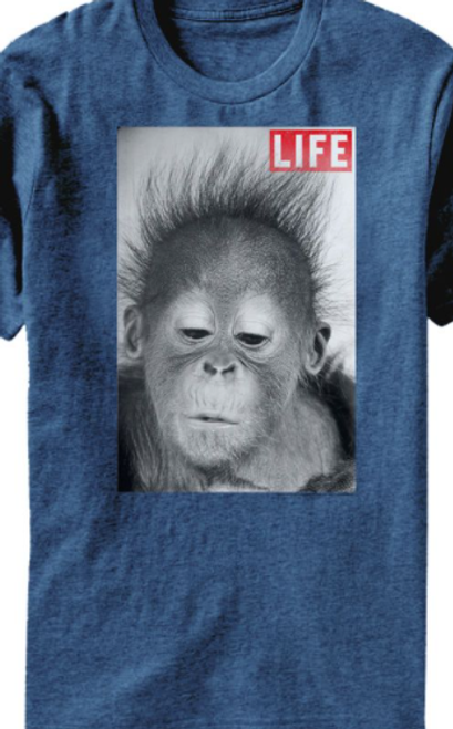 Life Magazine Hair T-Shirt