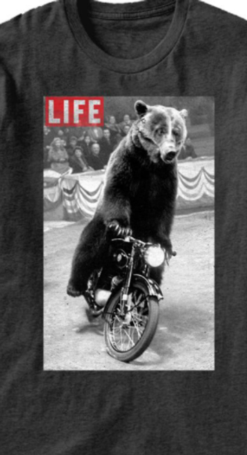 Life Magazine Bearcycle T-Shirt
