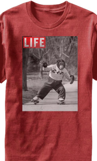 Life Magazine Zip Skate T-Shirt