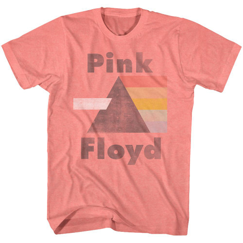 Pink Floyd Distressed Dark Side of the Moon with Prism T-Shirt