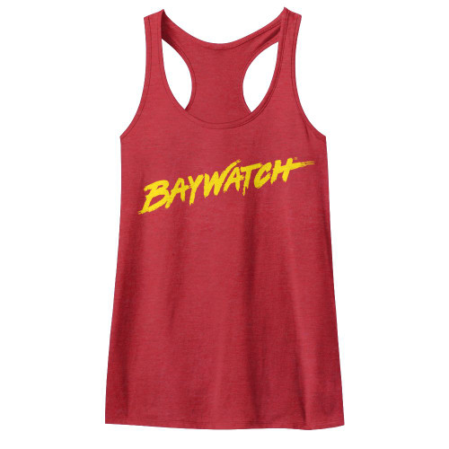 Baywatch Logo Tank