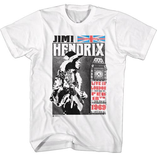 Jimi Hendrix Live in London T-Shirt