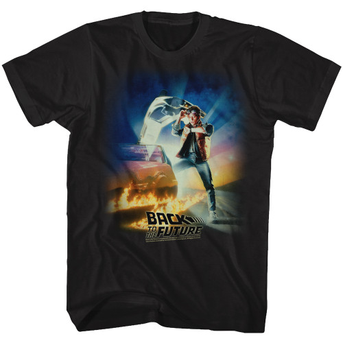 Back to the Future Movie Poster T-Shirt