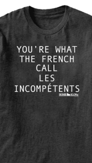 """Home Alone """"Les Incompetents"""" T-Shirt"""