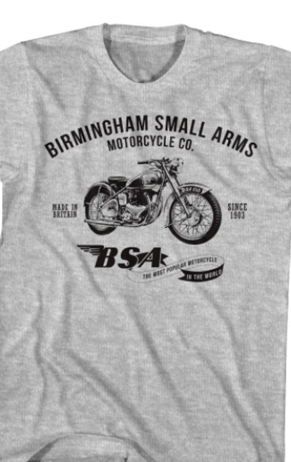Birmingham Small Arms Motorcycle T-Shirt