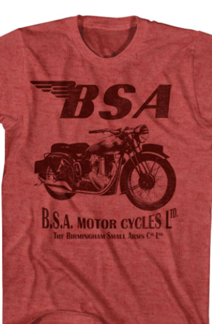 BSA Motor Cycles T-Shirt*