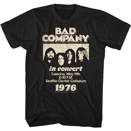 Bad Company Live in Concert 1976 T-Shirt