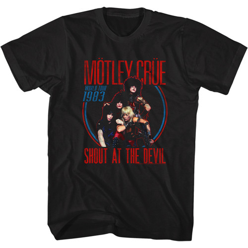 Motley Crue World 1983 T-Shirt