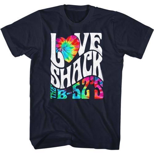 B-52's Love Shack Tie Dye Image T-Shirt