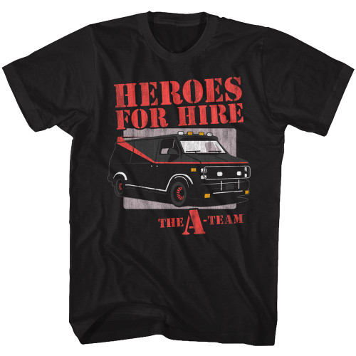 A-Team Heroes for Hire T-Shirt