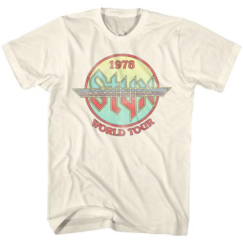 Styx 1978 World Tour T-Shirt
