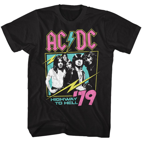 AC/DC Neon Highway T-Shirt