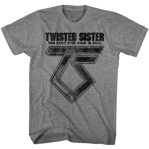 Twisted Sister Can't Stop Rock 'N' Roll T-Shirt