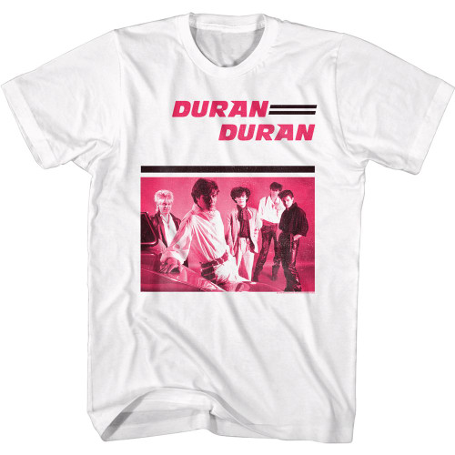 Duran Duran Group In Pink