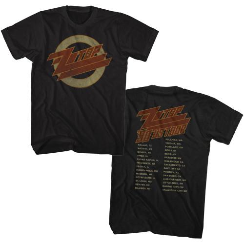ZZ Top 1990 US Tour T-Shirt