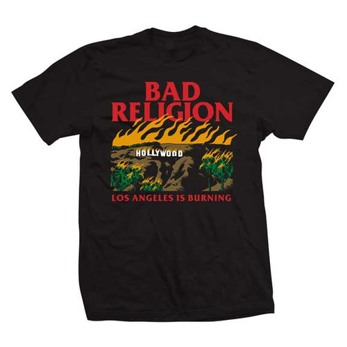 Bad Religion Los Angeles is Burning T-Shirt