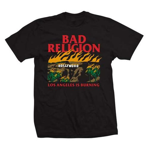 Bad Religion Los Angeles is Burning T-Shirt