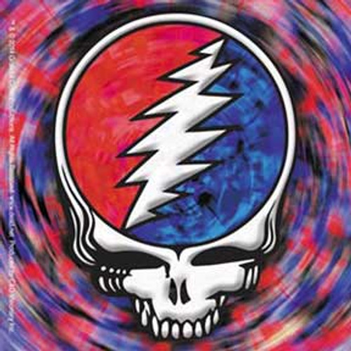 Grateful Dead Steal Your Face Spinning Sticker