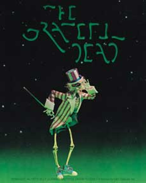 Grateful Dead Uncle Sam Sticker