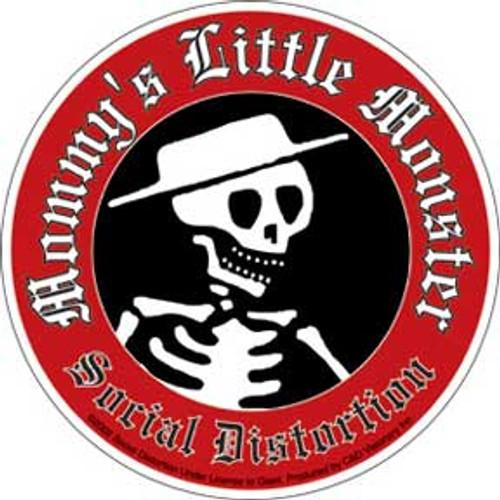 Social Distortion Mommy's Little Monster Sticker