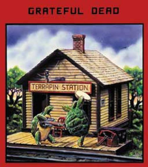 Grateful Dead Terrapin Station Sticker