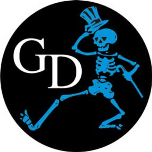 Grateful Dead Skeleton Sticker