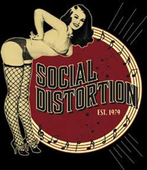 Social Distortion Burlesque Sticker