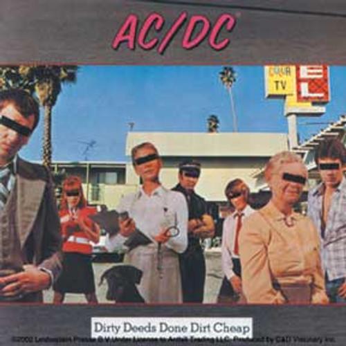 AC/DC Dirty Deeds Sticker