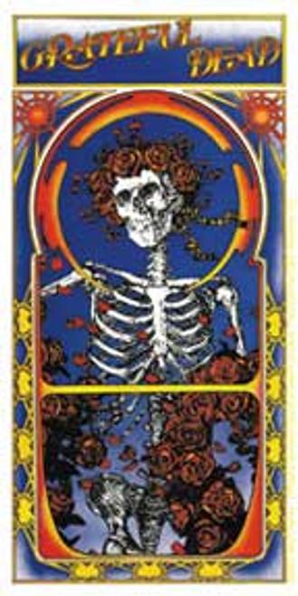 Grateful Dead Skull Rose Album Sticker