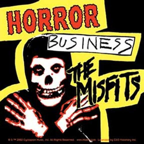 Misfits Horror Business Sticker