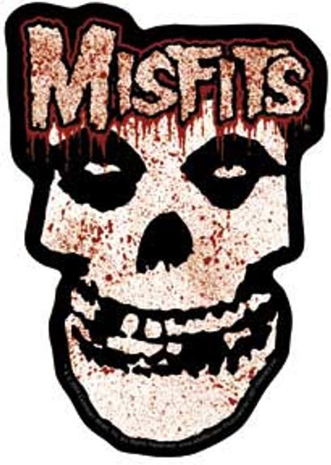Misfits Bloody Skull Die Cut