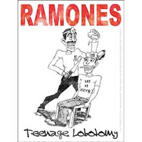 Ramones Teenage Lobotomy Sticker